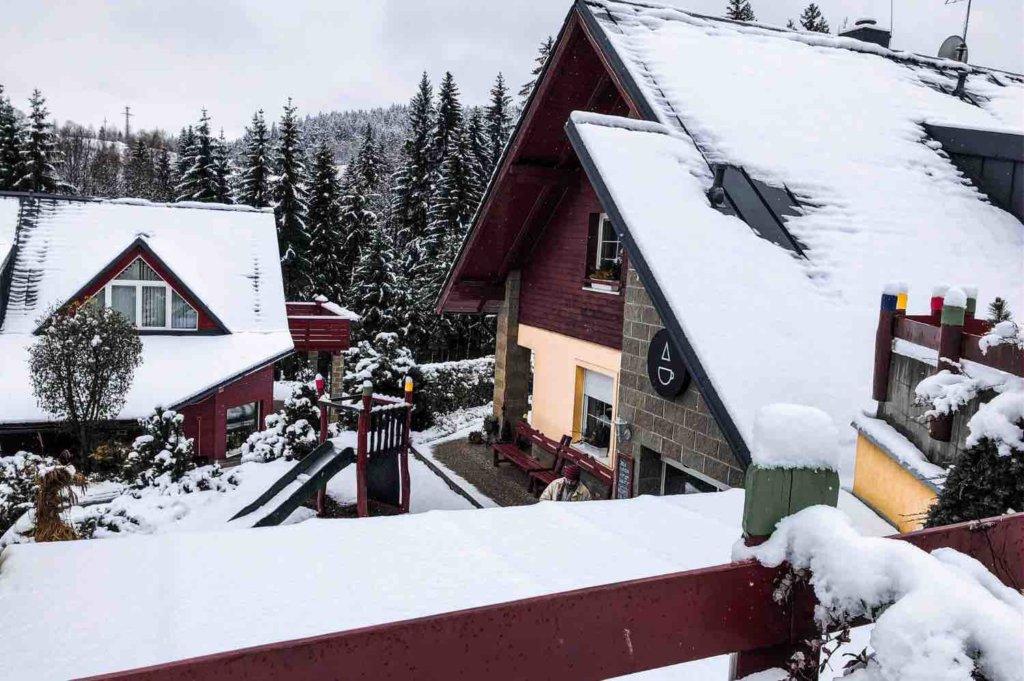 jizerské hory zima